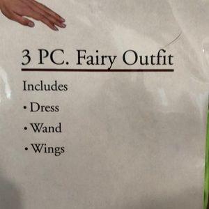 legs avenue Other - Fairy Halloween Costume wings wand dress cute
